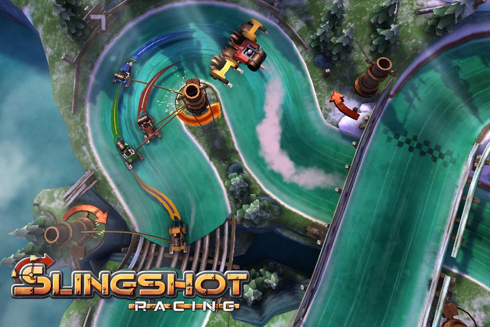 Slingshot Racing iPhone, iPad Screenshot